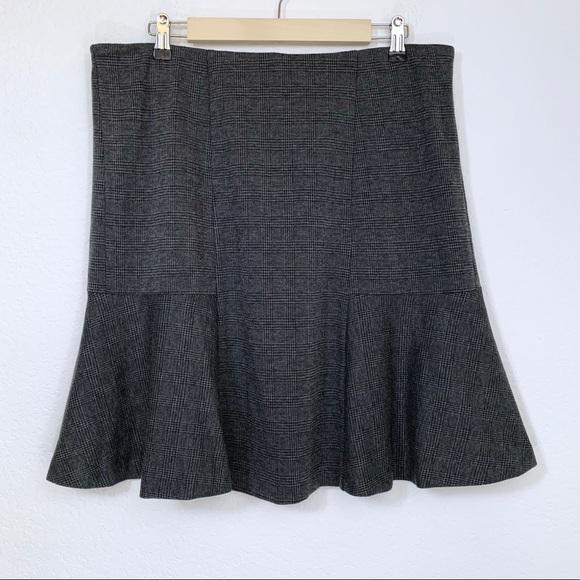 Liz Claiborne Dresses & Skirts - Plaid Tulip Ruffle Skirt